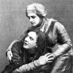 Russian actors in Hamlet, 1911