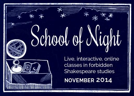 School of Night banner